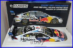 Classic 1/18 Holden Zb Commodore 2020 Van Gisbergen Red Bull V8 Supercar #18718