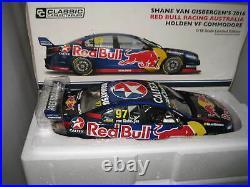 Classic 1/18 V8 Supercars Vf Commodore Red Bull Van Gisbergen 2016 #97 #18609