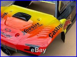 Custom Painted Losi 5ive T body, Rovan, King motors, 30N, RED BULL CUSTOM