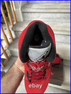 DS Nike Air Jordan 5 V Raging Bull Toro Bravo Red 2021 Mens Size 10.5