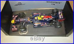 Daniel Ricciardo (Australia) hand signed Model F1 Red Bull car (118 scale)