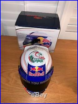 Daniel Ricciardo (Australia) signed Red Bull 12 Helmet + COA & Photo Proof