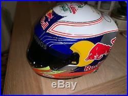 Daniel Ricciardo (Australia) signed Red Bull 12 Helmet + COA (signed visor)