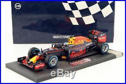 Daniel Ricciardo Red Bull RB12 #3 Brasilien GP Formel 1 2016 118 Minichamps