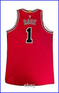 Derrick Rose Chicago Bulls Adidas Rev30 Authentic Pro Cut Jersey