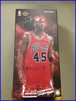 Enterbay Michael Jordan Chicago Bulls # 45 Red 16 RM 1053 Normal Version NEW