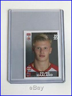 Erling Haaland Panini Rookie Sticker Red Bull Salzburg Austria INVESTMENT