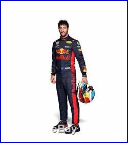 F1 Daniel Ricciardo Red Bull Printed Suit Go Kart/karting Race/Racing Suit