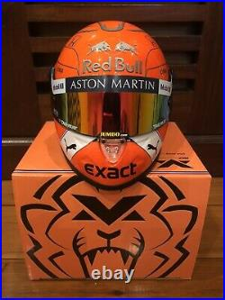 F1 Max Verstappen Red Bull Racing Honda 2019 Mini Helmet 12 Belgium Gp New