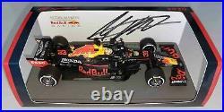 F1 Max Verstappen signed 1/43 Red Bull RB16 car 2020 Spark Formula 1