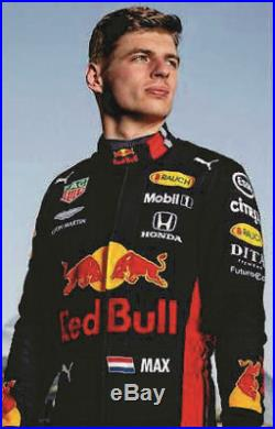 F1 RedBull Printed Racing Suit 2019