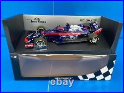 F1 Red Bull Scuderia Toro Rosso Honda STR13 B. Hartley 2018 118 MINICHAMPS