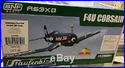 F4U Corsair RC plane BNF Red Bull AS3X Staufenbiel Horizon Hobby Spektrum