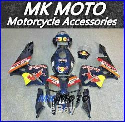 Fairing Kit Bodywork fit For HONDA CBR600RR 2005-2006 Injection Blue Red Bull