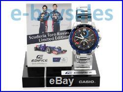 Genuine Rare F1 Limited Edition Red Bull Scuderia Toro Rosso Casio Ediface Watch