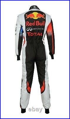 Go Kart Race Suit New Design Sublimated Red Bull Version