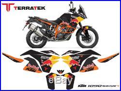 Graphics Kit for KTM 1090 Adventure R RedBull Terratek custom decal Sticker