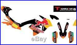 Graphics Kit for KTM 790 Adventure R RedBull Terratek semi custom decal Sticker