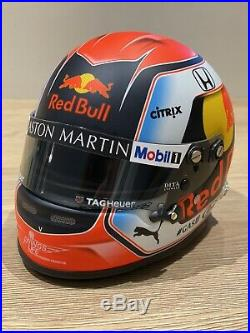 Helmet 1/2 Scale f1 Pierre gasly 2019 Red Bull SIGNED