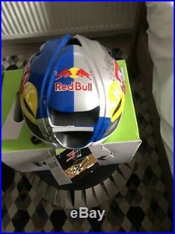 Helmet Kask Protone Red Bull Size L Road