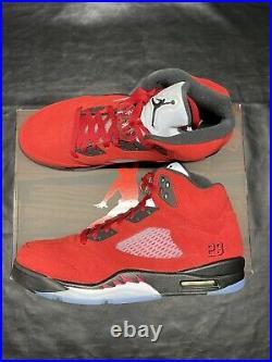 Jordan 5 Retro Raging Bull Red Size 11.5