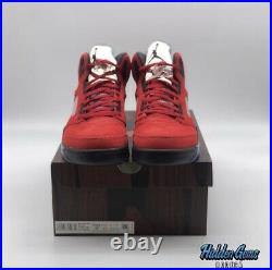 Jordan 5 Retro Raging Bulls Size 9
