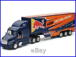 KTM Red Bull USA Toy Peterbilt Truck & Dungey Motocross Bike NEW New Ray Model