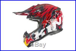 Ktm Helmet Casco Kini Red Bull Revolution Cross Enduro Tg. S