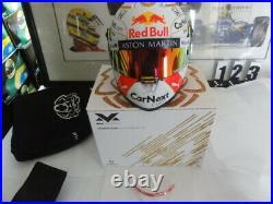 Latest 12 Max Verstappen F1 Helmet Year 2020 Limited Edition Hans