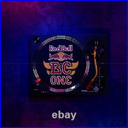 Limited Red Bull BC ONE Technics SL-1200MK7R Direct Drive Turntable