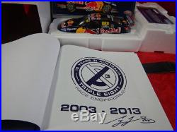 Lowndes 118 888 Red Bull 10 year in Australia Club car + signed Book only 112