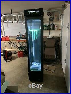 MONSTER ENERGY DRINK Fridge Cooler Refrigerator Red Bull ROCKSTAR Man Cave Bar