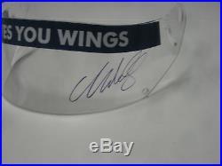 Mark Webber Hand Signed Red Bull Visor Unframed + Photo Proof C. O. A