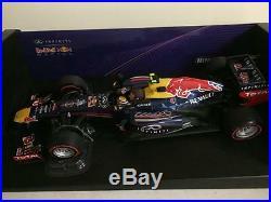 Mark Webber SIGNED Minichamps 2013 Red Bull RB9 1/18 Brazil ONLY 16 signed