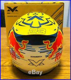 Max Ed 12 Helmet Casque Casco Verstappen Red Bull Honda F1 Austrian GP 2019