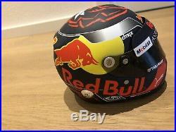 Max Verstappen 2018 Helm Helmet 12 Red Bull Racing F1 Formel 1 handsigniert