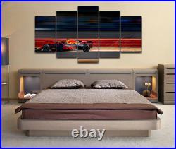 Max Verstappen F1 Red Bull Racing 5 Piece Canvas Home Decor Wall Art Decor