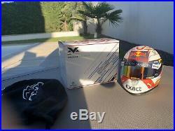Max Verstappen Helmet 2019 White Half Scale 1/2 F1 Red Bull Racing