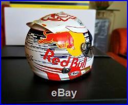 Max Verstappen Mini Helmet Esc. 1/2 F1 Red Bull Season 2019