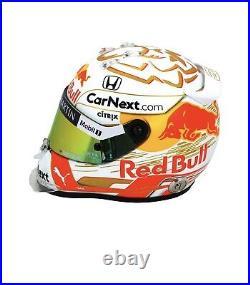 Max Verstappen Red Bull F1 2020 Helm Helmet Casque Limited 12 TOP