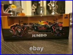 Max verstappen burago F1 car 124 Red Bull Aston Martin RB16 2020 very rare NEW
