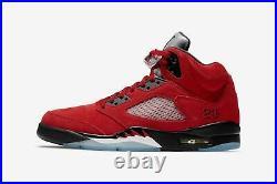 Mens Air Jordan 5 Retro Raging Bull 2021 Size 10.5 Free Shipping