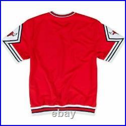 Mens Mitchell & Ness NBA Authentic Shooting Shirt Bulls