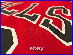 Michael Jordan TRULY AUTHENTIC Champion #12 Chicago Bulls Jersey Sz 40 Medium