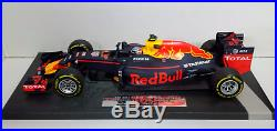 Minichamps 1/18 Modellino Auto F1 Verstappen Red Bull Rb12 Winner Gp Spagna 2016