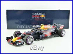 Minichamps 1/18 Red Bull Rb14 Tag Heuer Winner Gp Mexique 2018 110181933
