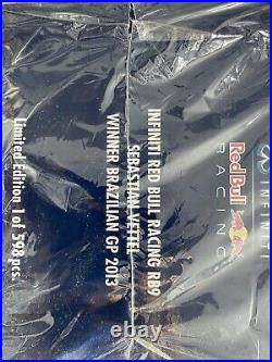Minichamps F1 118 Red Bull RB9 2013 Vettel World Champion ULTRA RARE 598 Pieces
