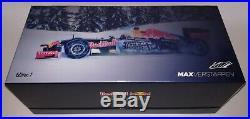 Minichamps F1 Red Bull RB7 Max Verstappen 1/18 Snow Demonstration Kitzbühel 2016