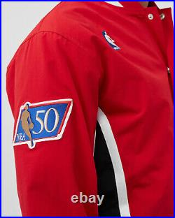 Mitchell & Ness NBA Authentic Chicago Bulls 1996-97 Warm Up Jacket Men's Red Top