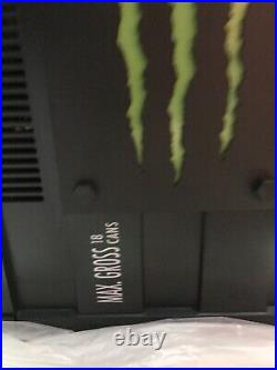 Monster Energy Thermoelectric Cooler Mini Fridge Holds 18 Cans New Box Red Bull